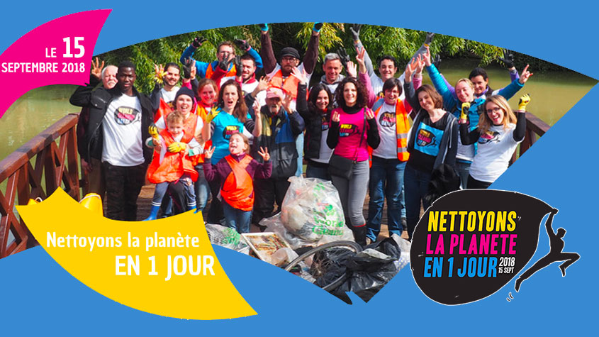 World Clean Up Day avec le C.L.J